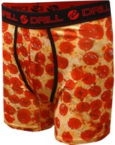Drill Look But Don't Bite Pepperoni Pizza Performance Boxer Briefs for men