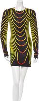 Christopher Kane Long Sleeve Sheath Dress