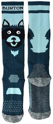 Burton Performance Mediumweight Socks (Toddler/Little Kid/Big Kid) (Raccoon) Boys Shoes