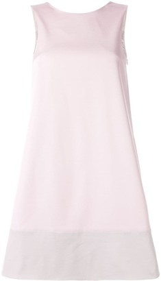 Paule Ka short-sleeve flared dress