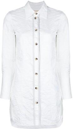 KHAITE Lemay wrinkled shirt