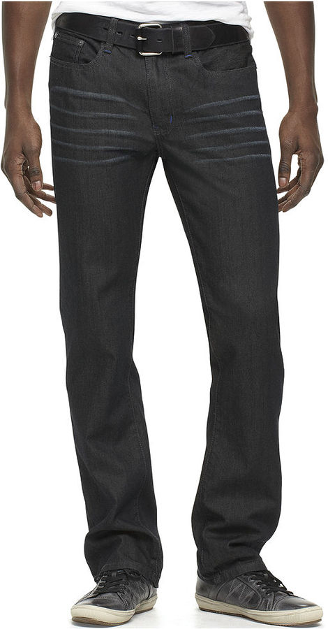 Kenneth Cole Reaction Jeans, Dark Wash Boot Cut Jeans