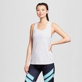 Champion Women's Graphic Muscle Tank Top White