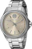Vince Camuto Women's VC/5267LRSV Light -Tone Dial Silver-Tone Bracelet Watch