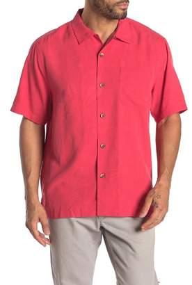Tommy Bahama Al Fresco Tropics Short Sleeve Silk Hawaiian Shirt