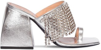 Nodaleto 85mm Preston Metallic Leather Sandals