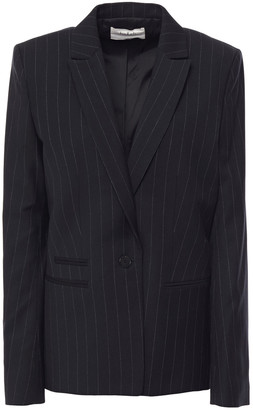 BA&SH Pinstriped Twill Blazer
