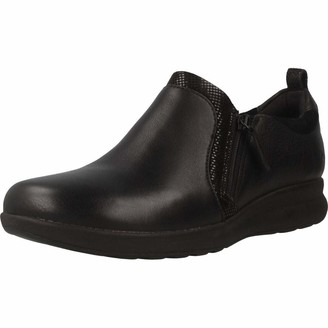 Clarks Un Adorn Zip Womens Loafers
