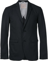 Factotum classic blazer - men - Polyester/Wool - 46