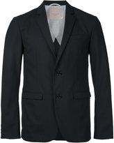 Factotum classic blazer - men - Polyester/Wool - 46