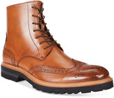 Kenneth Cole New York Men's Click Sound Wing-Tip Boots