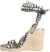 LK Bennett Lace-Up Wedge Sandals