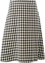 Wales Bonner checked skirt