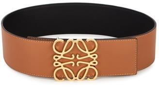 Loewe Reversible Leather Waist Belt