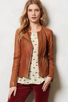 Anthropologie Sylvana Leather Moto Jacket