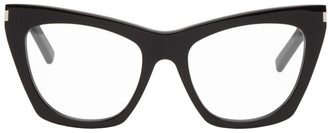 Saint Laurent Black SL 214 Cat Eye Sunglasses