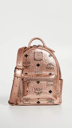 MCM Essential Visetos Original Mini Crossbody Bag