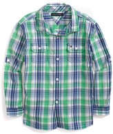 Tommy Hilfiger Final Sale- Plaid Shirt
