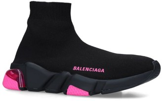 Balenciaga Clear-Sole Speed Sneakers