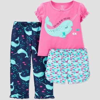 Just One You Made By Carter's Toddler Girls' 3pc Narwal Pajama Set - Just One You® made by carter's