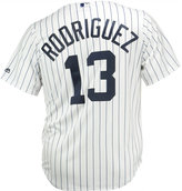 Majestic Men's Alex Rodriguez New York Yankees Replica Jersey