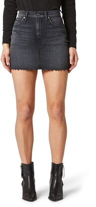 Hudson The Viper Cutoff Denim Miniskirt