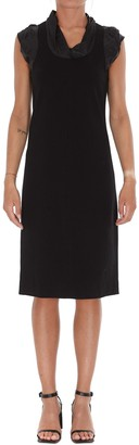 Givenchy Chaine Trimmed Sleeveless Dress