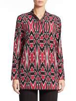 Natori Women's Printed Silk Tunic
