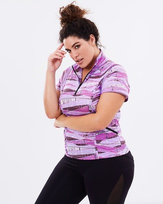 Curvy Chic Sports Stay Cool Short Sleeve Top