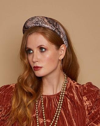 Eugenia Kim Cora Snake Print Headband