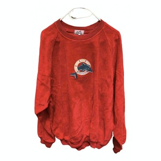 Hermes Red Cotton Knitwear for Women Vintage