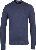 Hackett Gmd Navy Logo Crew Neck Sweater