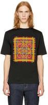 Loewe Black Tartan Anagram T-Shirt