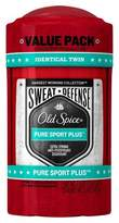 Old Spice Hardest Working Collection Sweat Defense Pure Sport Plus Antiperspirant & Deodorant Twin Pack - 5.2oz