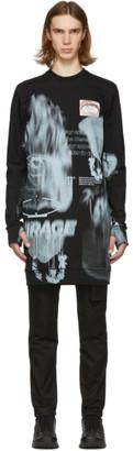 11 By Boris Bidjan Saberi Black Mirage Sweatshirt
