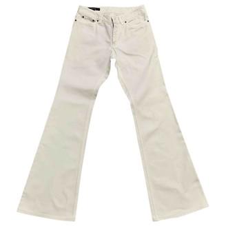 Gucci Ecru Cotton Jeans