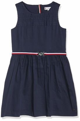 Tommy Hilfiger Girl's Signature Pleats Dress Slvls