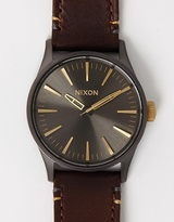Nixon The Sentry 38 Leather