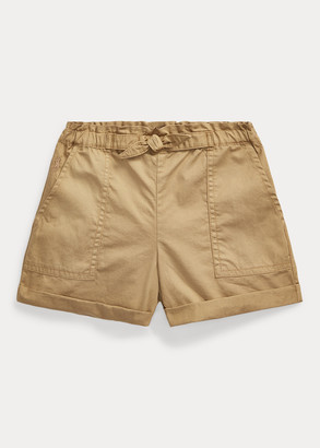 Ralph Lauren Cotton Twill Camp Short