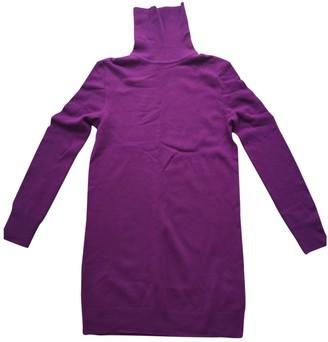 Equipment Purple Cashmere Dress for Women