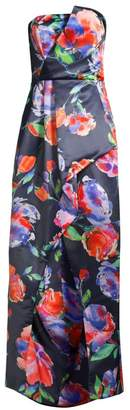 Parker Black Whitney Strapless Floral Gown
