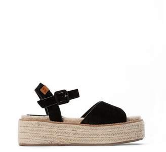 Coolway Ramen Wedge Heel Sandals