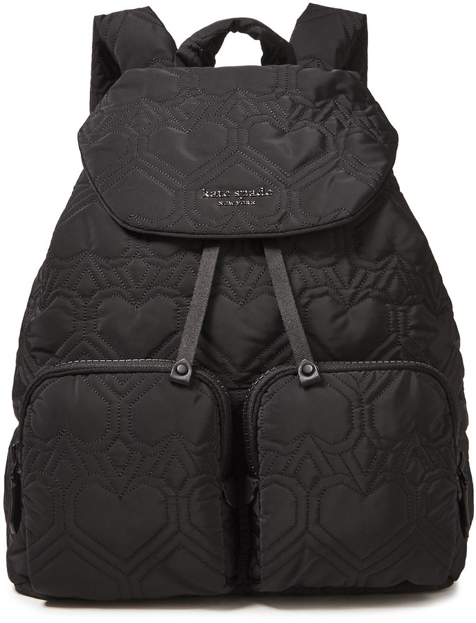 Kate Spade Quilted Shell Backpack