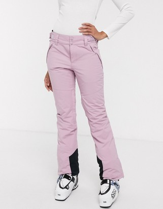 Billabong Malla ski pant in mauve