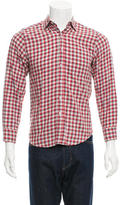 Steven Alan Check Flannel Shirt