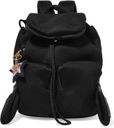 See by Chloe Joy Rider small leather-trimmed mesh-neoprene backpack