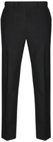 Autograph Black Tailored Fit Wool Blend Trousers