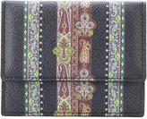Etro embroidered bi-fold wallet