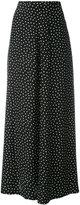 P.A.R.O.S.H. long polka dot skirt - women - Silk - S