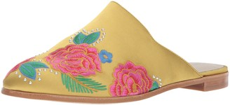 Kenneth Cole New York Women's Roxanne 2 Embroidered Flat Mule